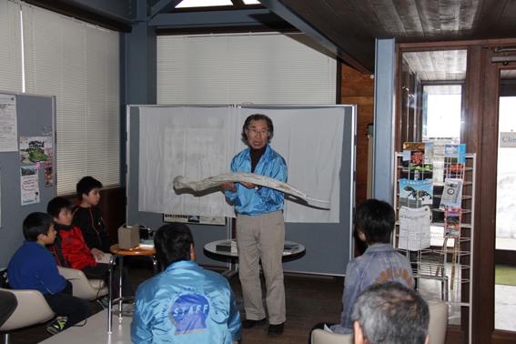 20130429沼田町化石館木村方一名誉館長によるトークショー