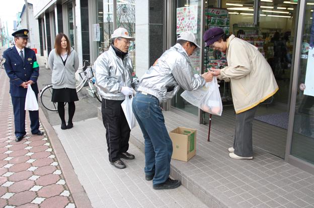 20130514春の地域安全運動に係る街頭啓発