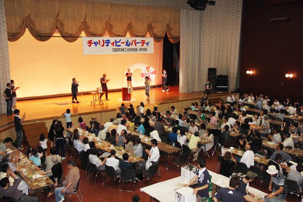 20130614沼田町商工会女性部青年部主催「チャリティービールパーティー」