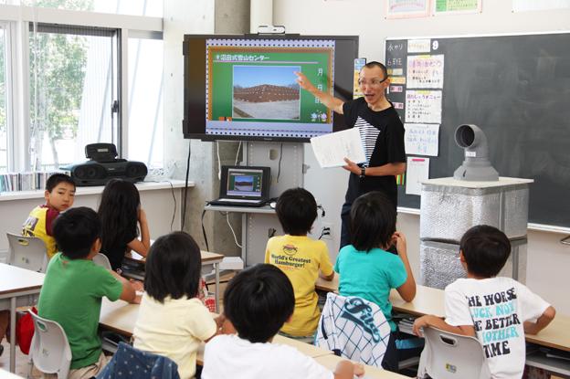 20130717小学3年生を対象に「利雪学習」
