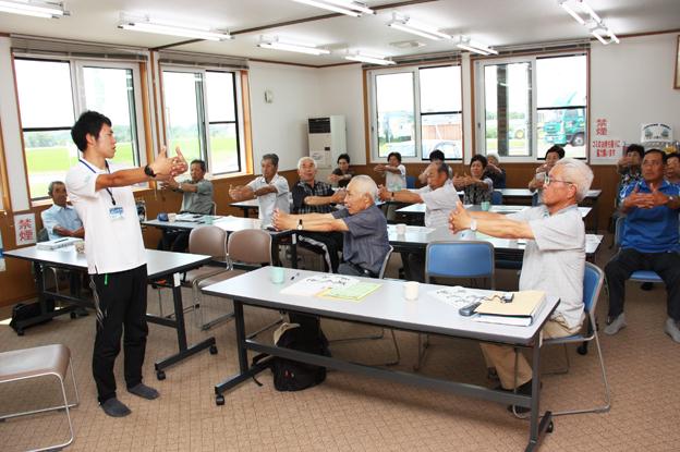 20130719共成老人クラブ健康・栄養教室
