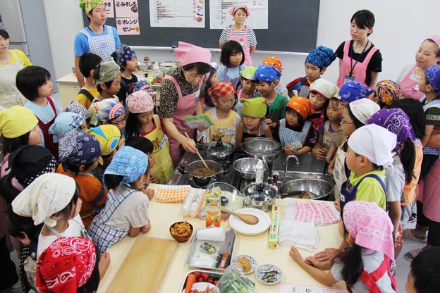 20130725沼田町食生活改善協議会 学童保育食育事業