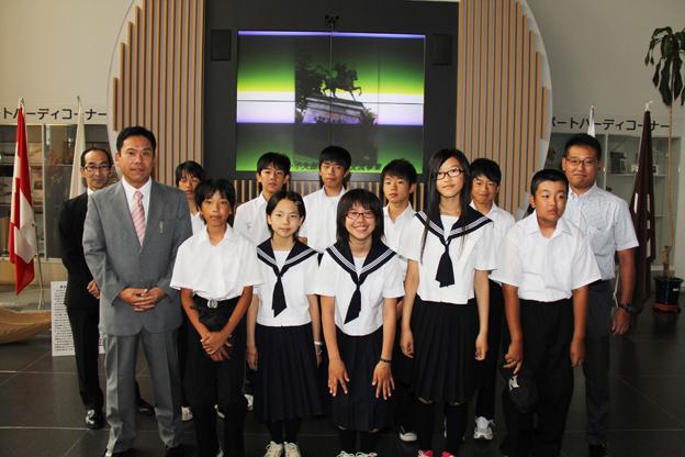 20130726平成25年度第21回沼田町・小矢部市青少年交流事業