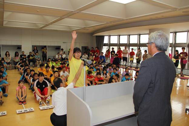 20130804B&G北海道ブロックスポーツ交流交歓会「水泳の部」が行われました