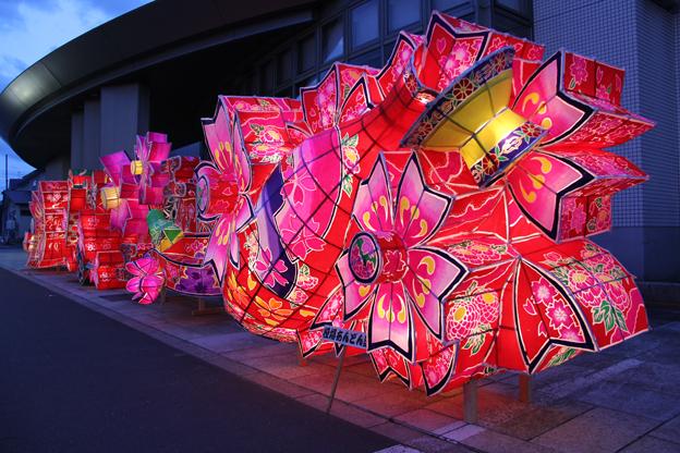 20130822夜高あんどん祭り前夜祭