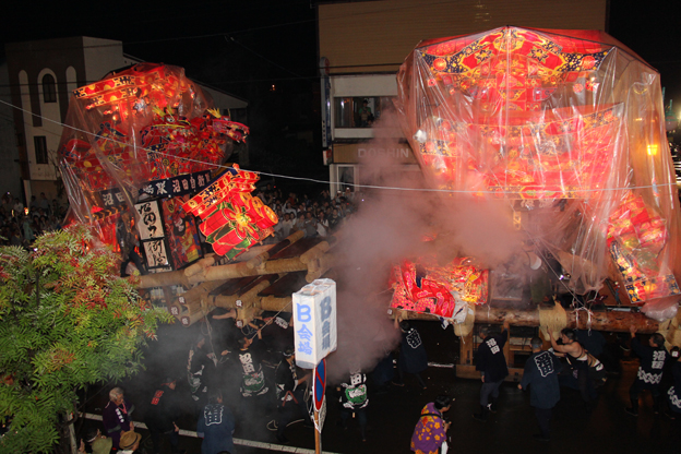 20130823第37回夜高あんどん祭りが始まりました