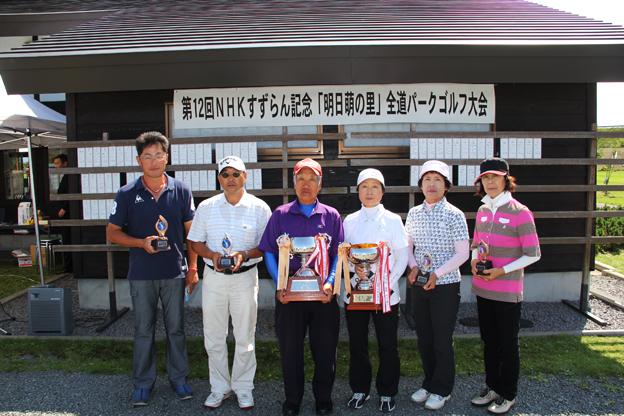 20130829第12回NHKすずらん記念「明日萌の里」全道パークゴルフ大会