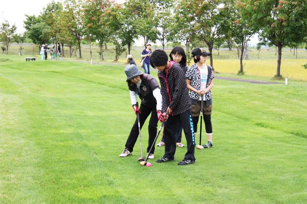 20130831第2回教育長杯争奪パークゴルフ大会