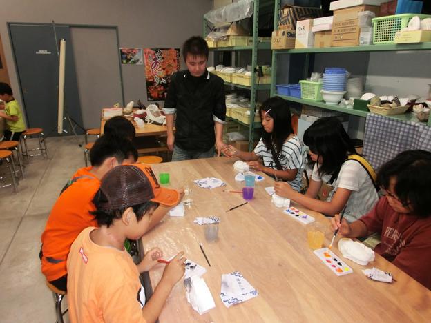 20130901沼田町化石体験館5周年記念講演会とワークショップ