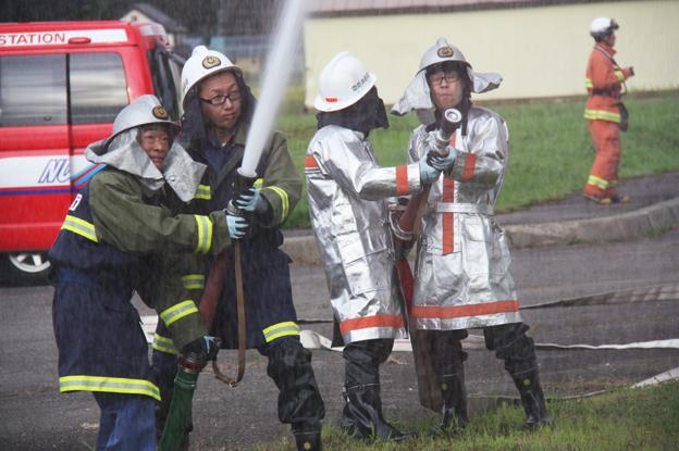 20130902消防合同訓練を行いました