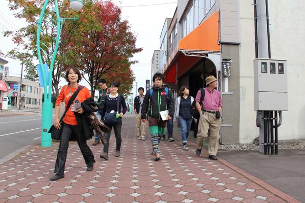 20131005沼田町や炭鉱を学ぶ「ぷらぷら沼田」が開催されました
