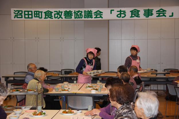 20131016独り暮らし高齢者食事会