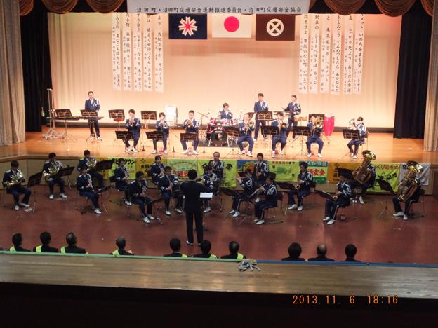 20131106沼田町交通安全町民大会が行われました