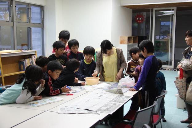 20131107ミニ工作教室「スーパーボールをつくろう!!」