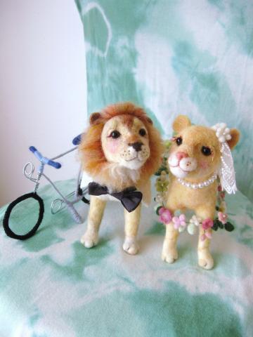 wedding ライオン×ライオン 2