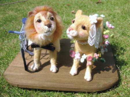 wedding ライオン×ライオン