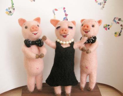 子豚トリオ