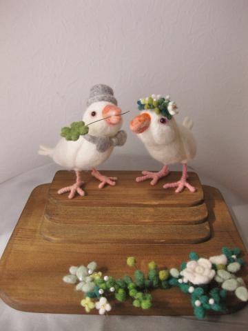 wedding 文鳥