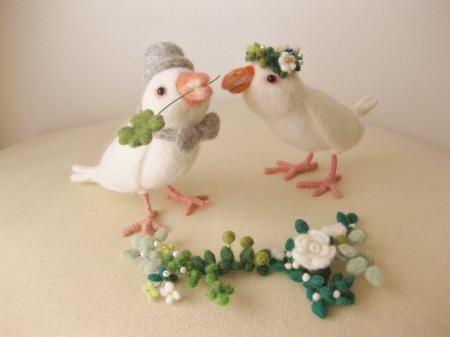 wedding 文鳥 2