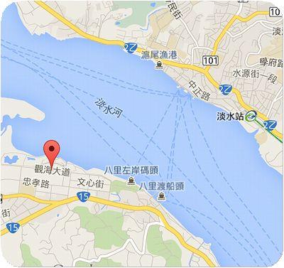 BaLi水岸地図