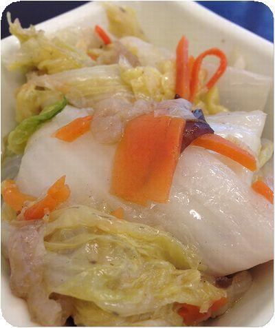 阿宗雞肉飯白菜
