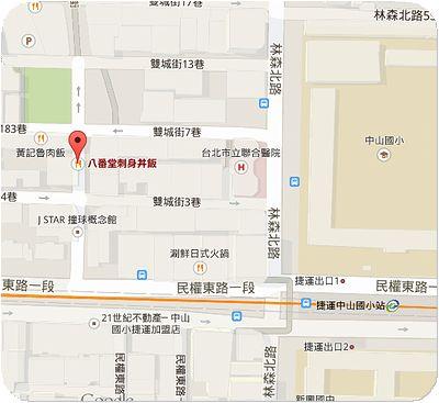八番堂地図