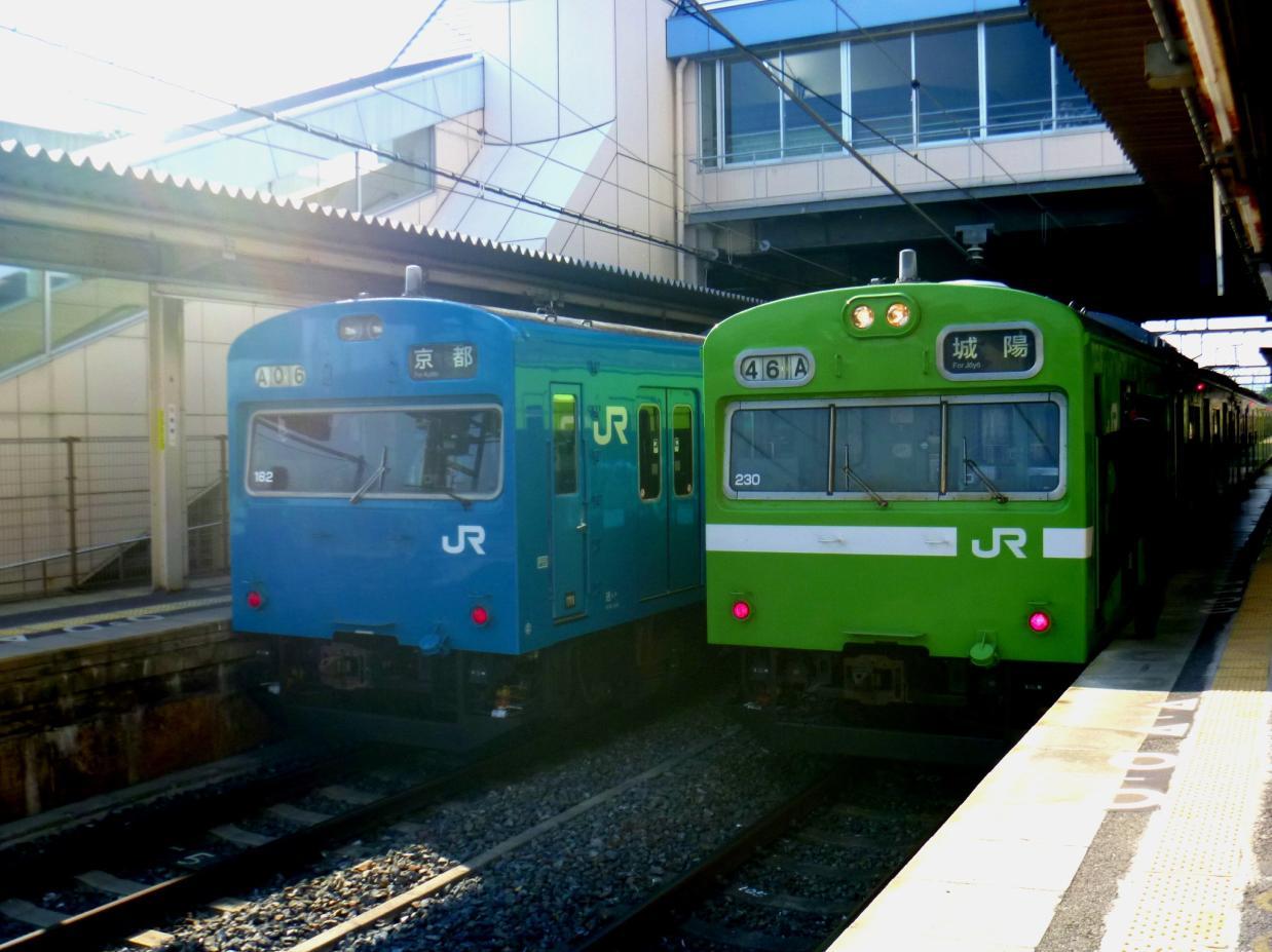 青い奈良線 (5)