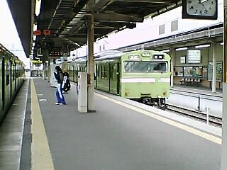 青い奈良線 (7)