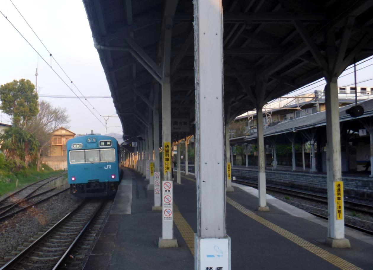 青い奈良線 (18)