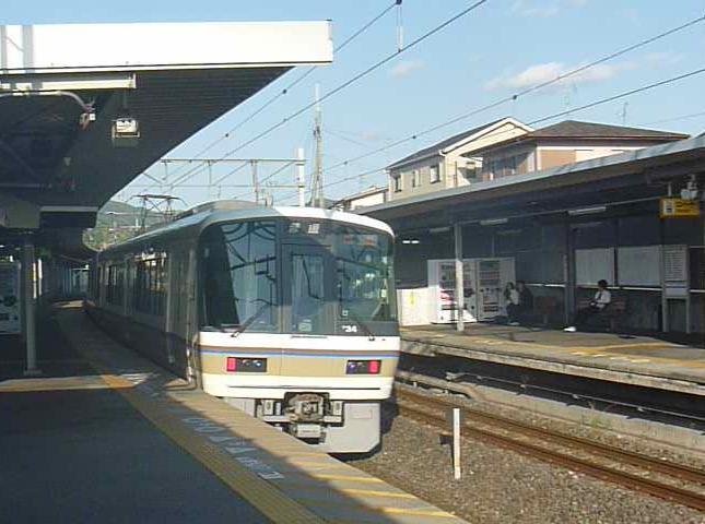 青い奈良線 (17)