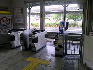 JR桃山改札 05