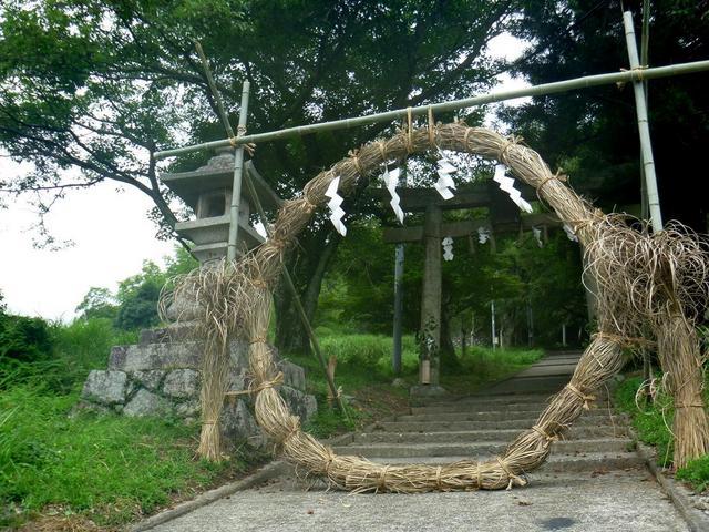 大宮神社茅の輪 01