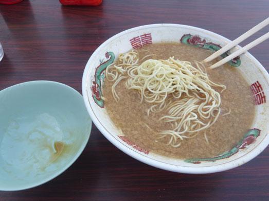 らーめんゴルジこってり背脂らー麺秘境めし043