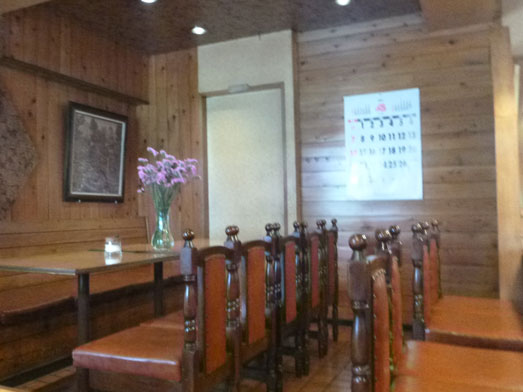 大山の喫茶店ピノキオのホットケーキ006