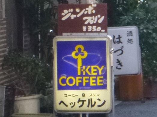 新橋の喫茶店ヘッケルンでジャンボプリン008