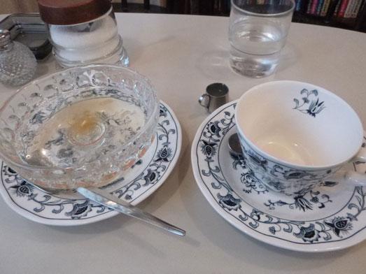 新橋の喫茶店ヘッケルンでジャンボプリン020