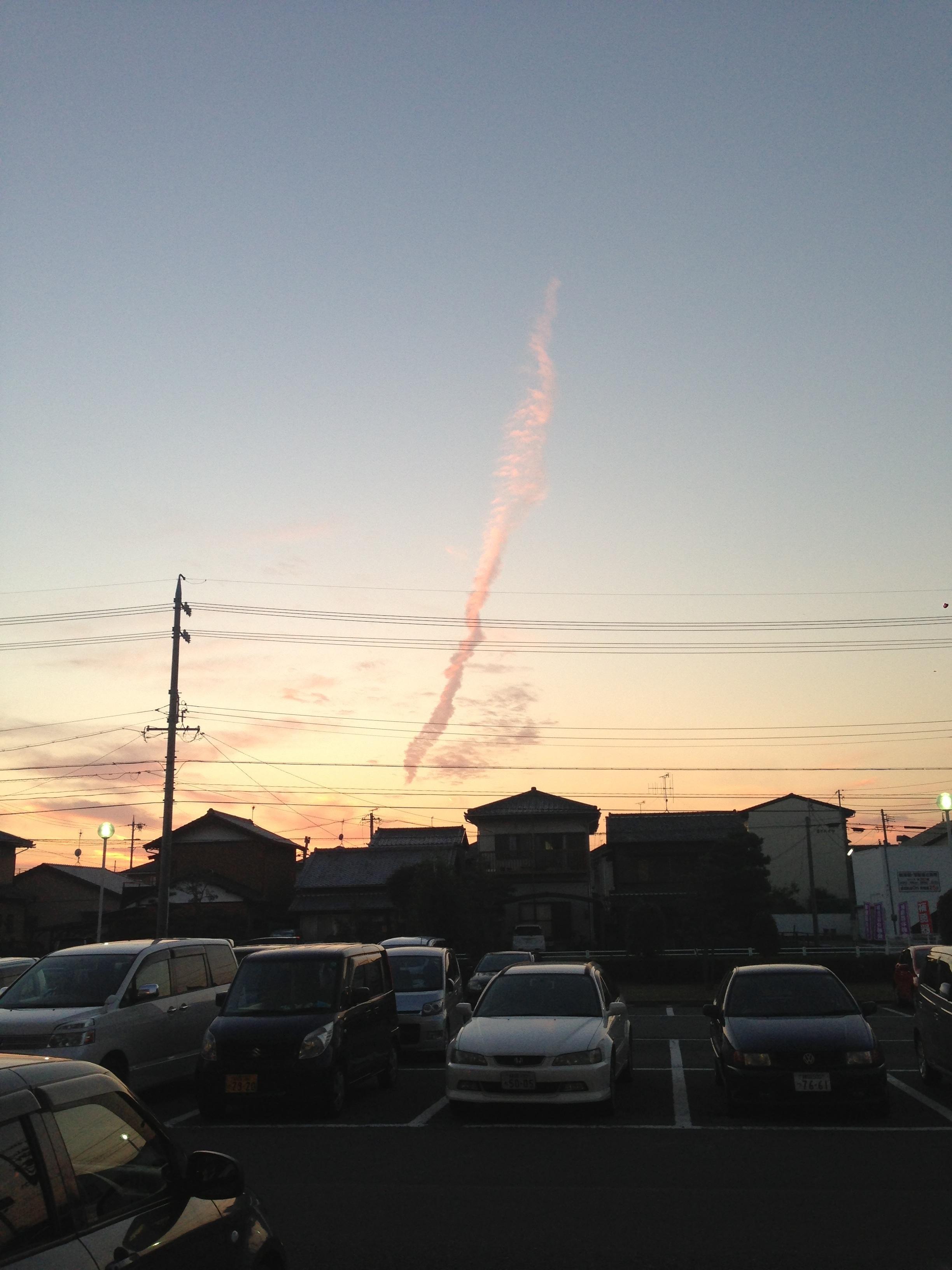 【静岡県】 地震雲やばすぎワロタwwwwwwwwww
