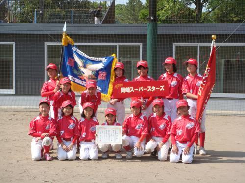 豊橋西ライオンズクラブ旗争奪ジュニアソフトボール大会