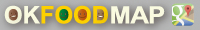 OKFOODマップgooglemap