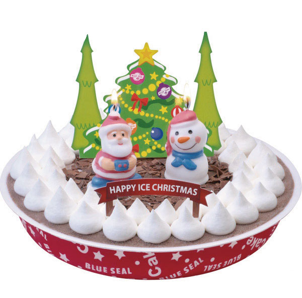 2013ブルーシールXmasチョコアイスケーキ