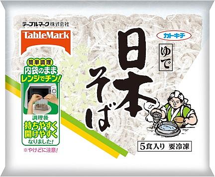 テーブルマーク 日本そば5食