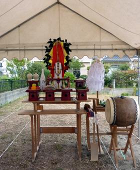 ノキシタノイエ地鎮祭