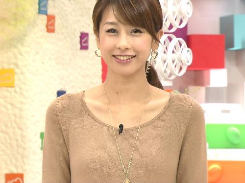 加藤綾子胸チラ