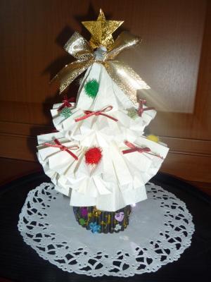 クリスマスツリー(白)