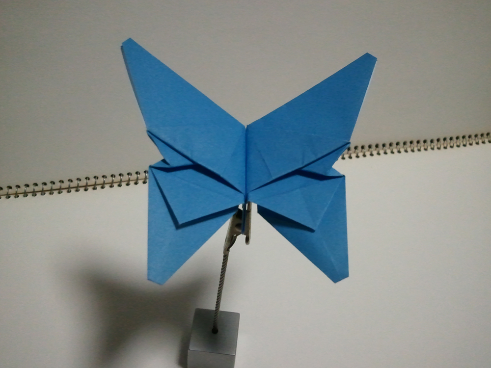 すべての折り紙 箱の折り方 折り紙 : 折り紙 蝶々 創作 - 折り紙 ...