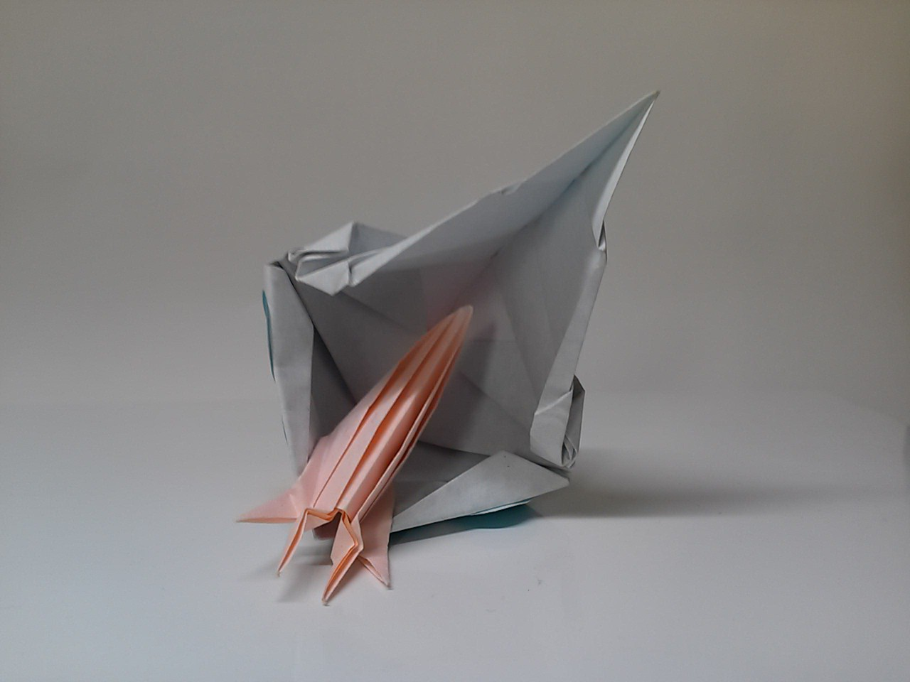 すべての折り紙 折り紙 トーヨー : 創作 折り紙 キャラクター 王蟲 ...