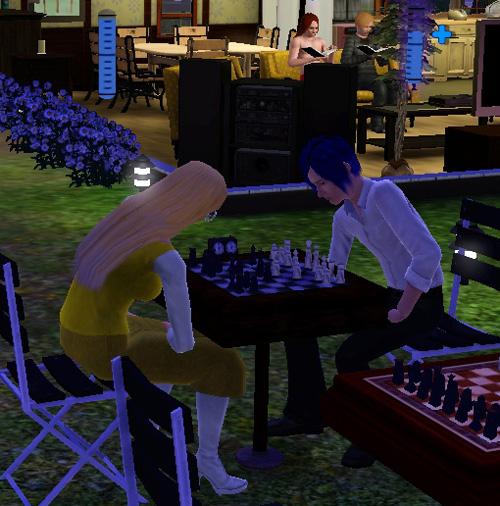 チェス対決