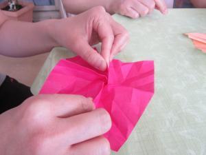 折り紙バラ3