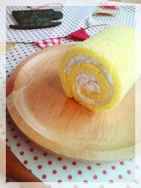 ロールケーキオブジェ