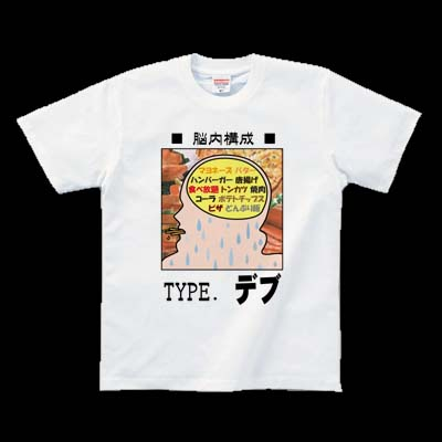 ニセ脳内鑑定-TYPE . デブ